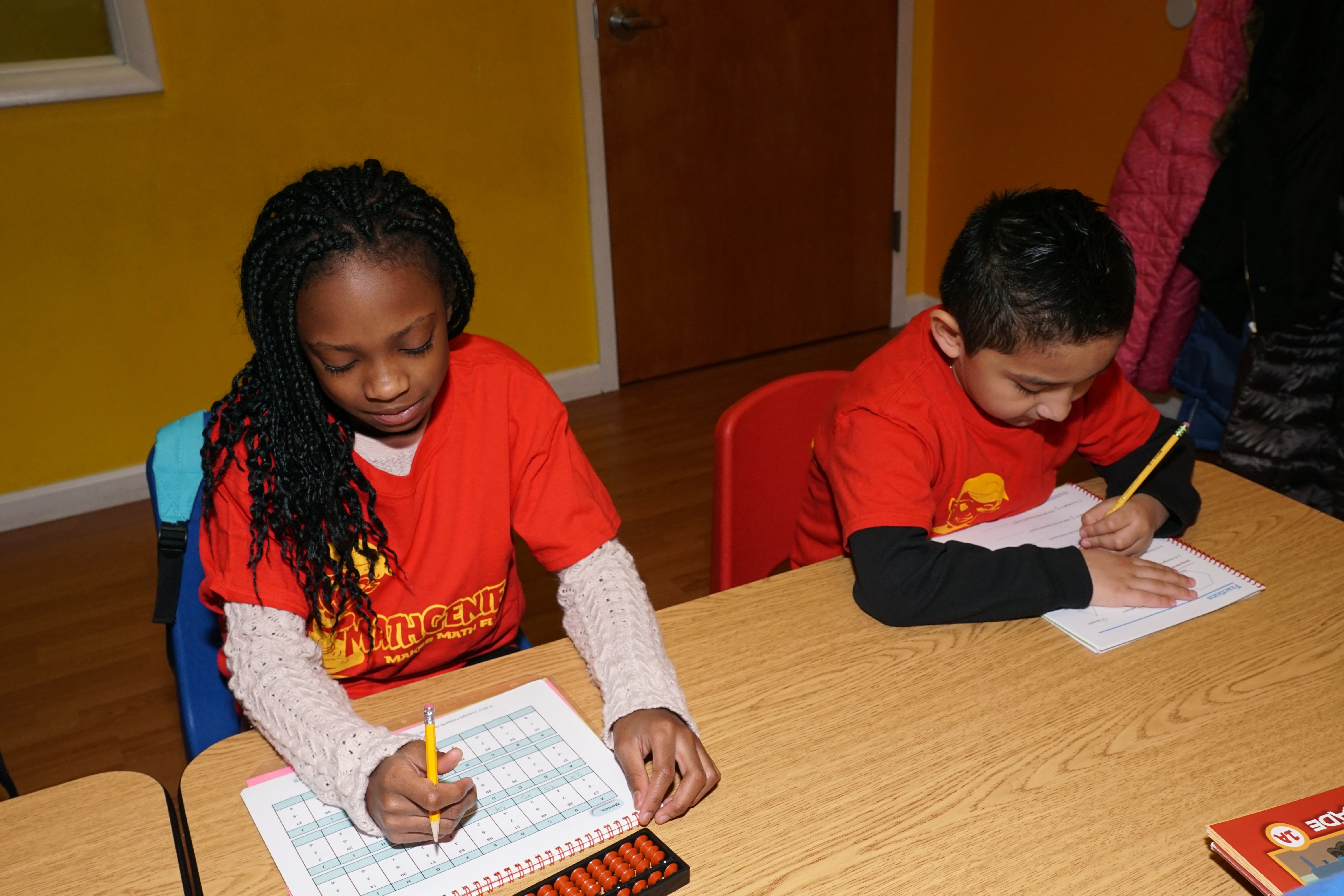 your child with have better focus and concentration using our methods at Math Genie