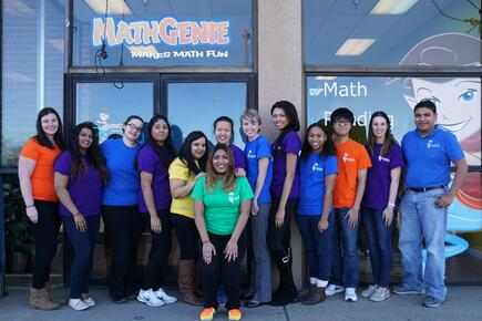 Come check out the Math Genie Team!