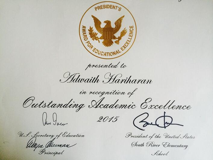 Math Genie graduate wins President's Educational Excellence Award from President Barack Obama