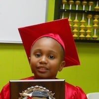 Math Genie Success- student scores 95% and up on the Terra Nova