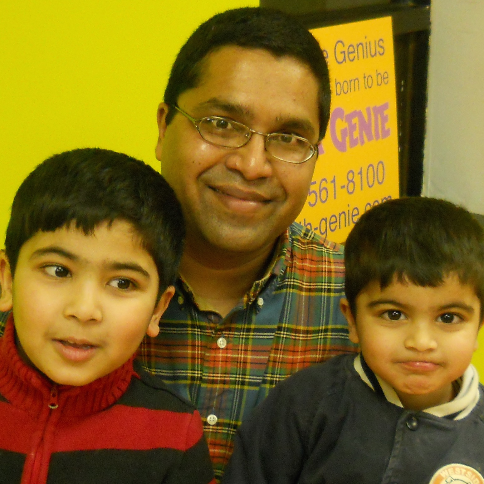 Math Genie Success-Parent sees a great deal of progess in child after only a few months at Math Genie versus Kumon