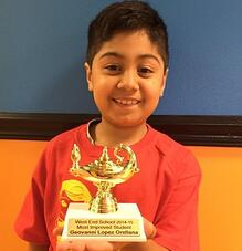 Most Improved Student after enrolling in Math Genie