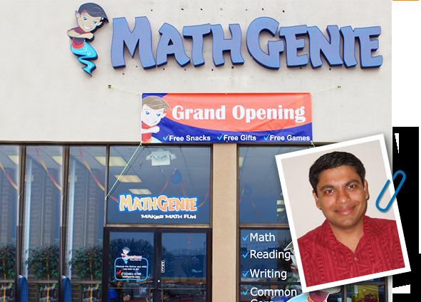 Math Genie Grand Opening in East Brunswick