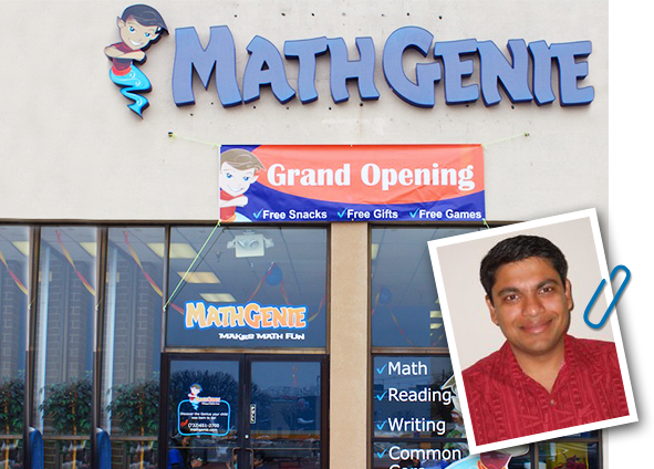 Math Genie Grand Opening in East Brunswick
