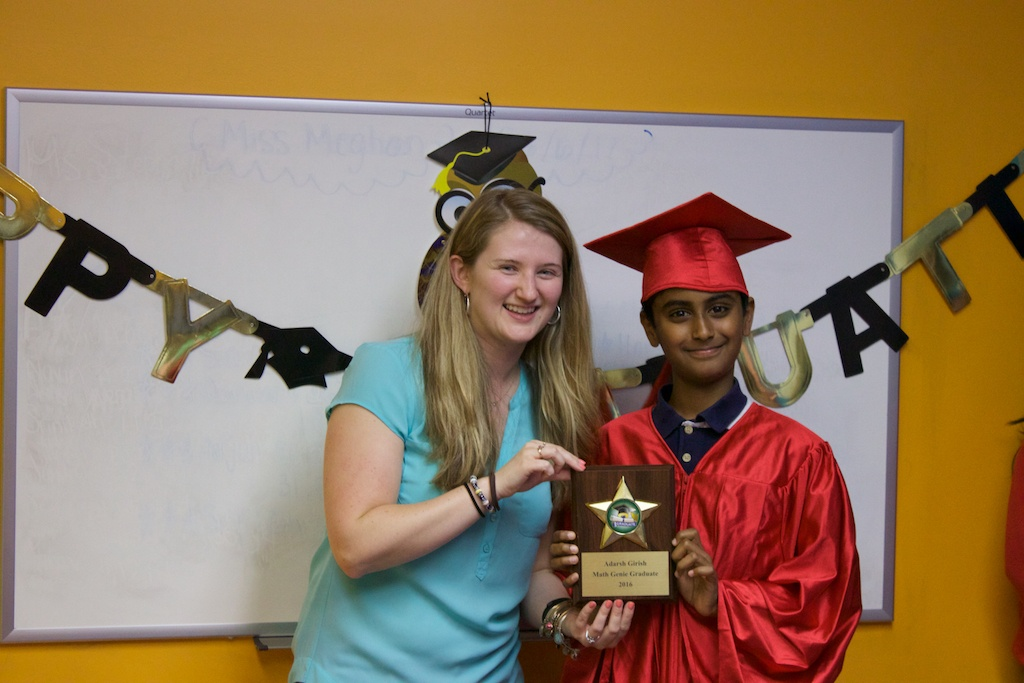 Math Genie Graduate attributes his success to his time spent at Math Genie learning the fundamentals of math