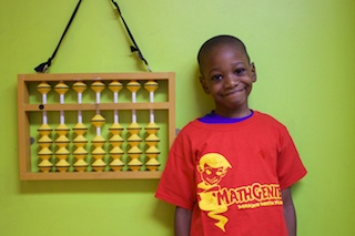 Math Genie Success- student struggling with speech issues gets into top charter school in Newark and and jumps a grade!