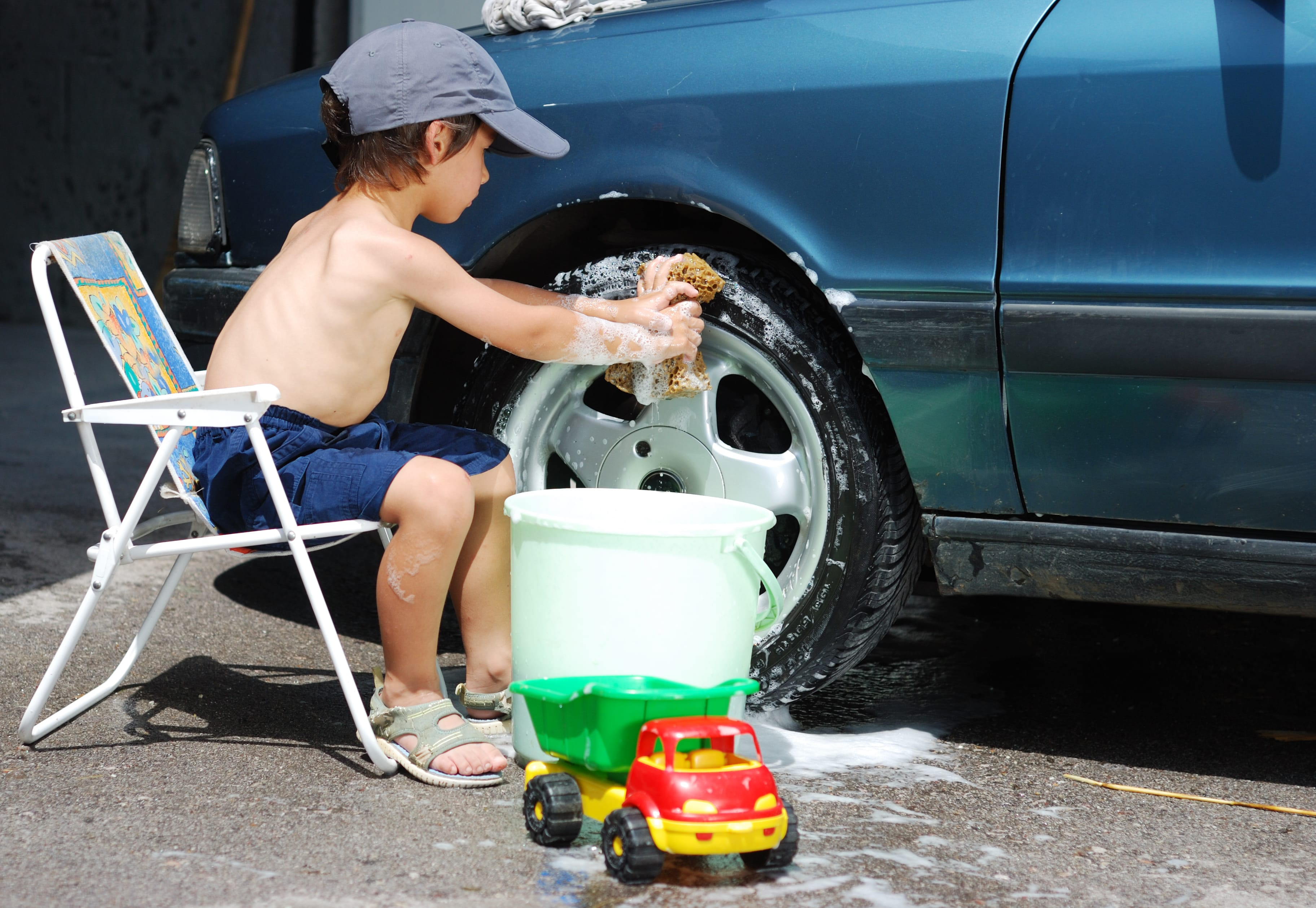 chores can help your child mature and learn responsibility