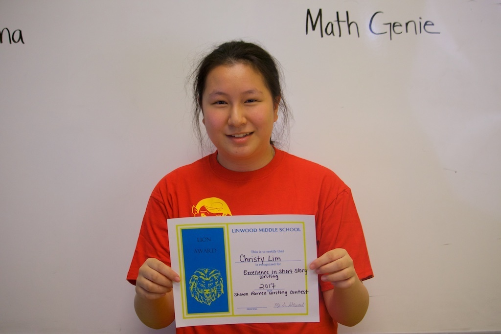 Math Genie Success-Student who won a first prize