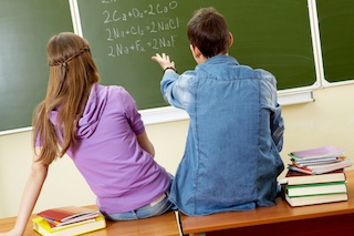 Math amongst boys and girls correlates directly to yhe widening gender gap