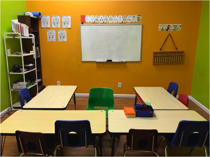 Math Genie classrooms are set up to provide your child with the best learning environment so they can reach their highest potential