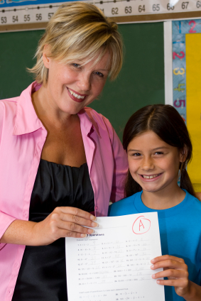 Student received good grades