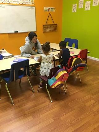 Math Genie Teacher teaching Common Core.