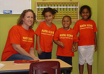 Math Genies awesome teachers are trained to put your childs learning first and make sure they are performing at their best