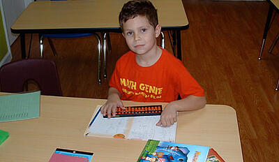 Math Genie Student can quickly do calculations using the abacus and mental math