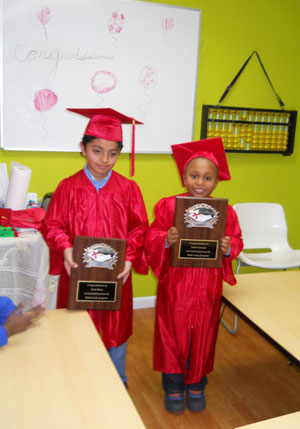 Math Genie students are achieving great success through the mental math program