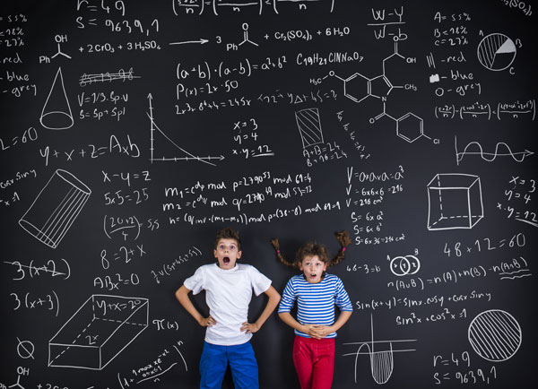 Kids with math anxiety
