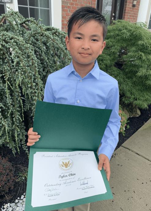 Tyler C's President's Award