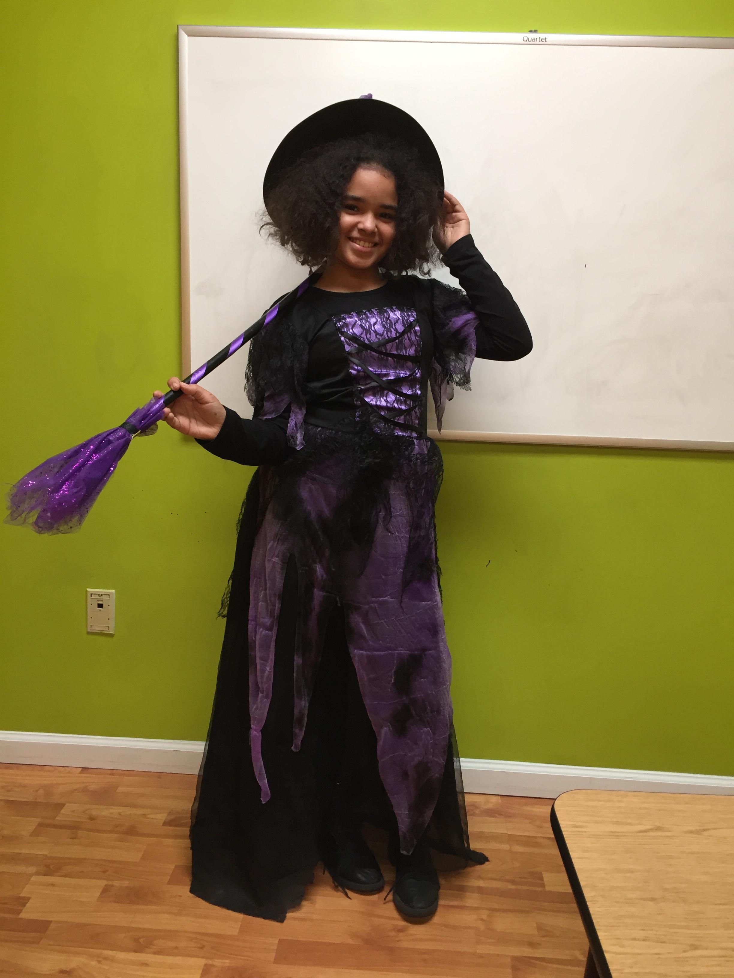 Math Genie's Halloween Contest Winners in South Plainfield!