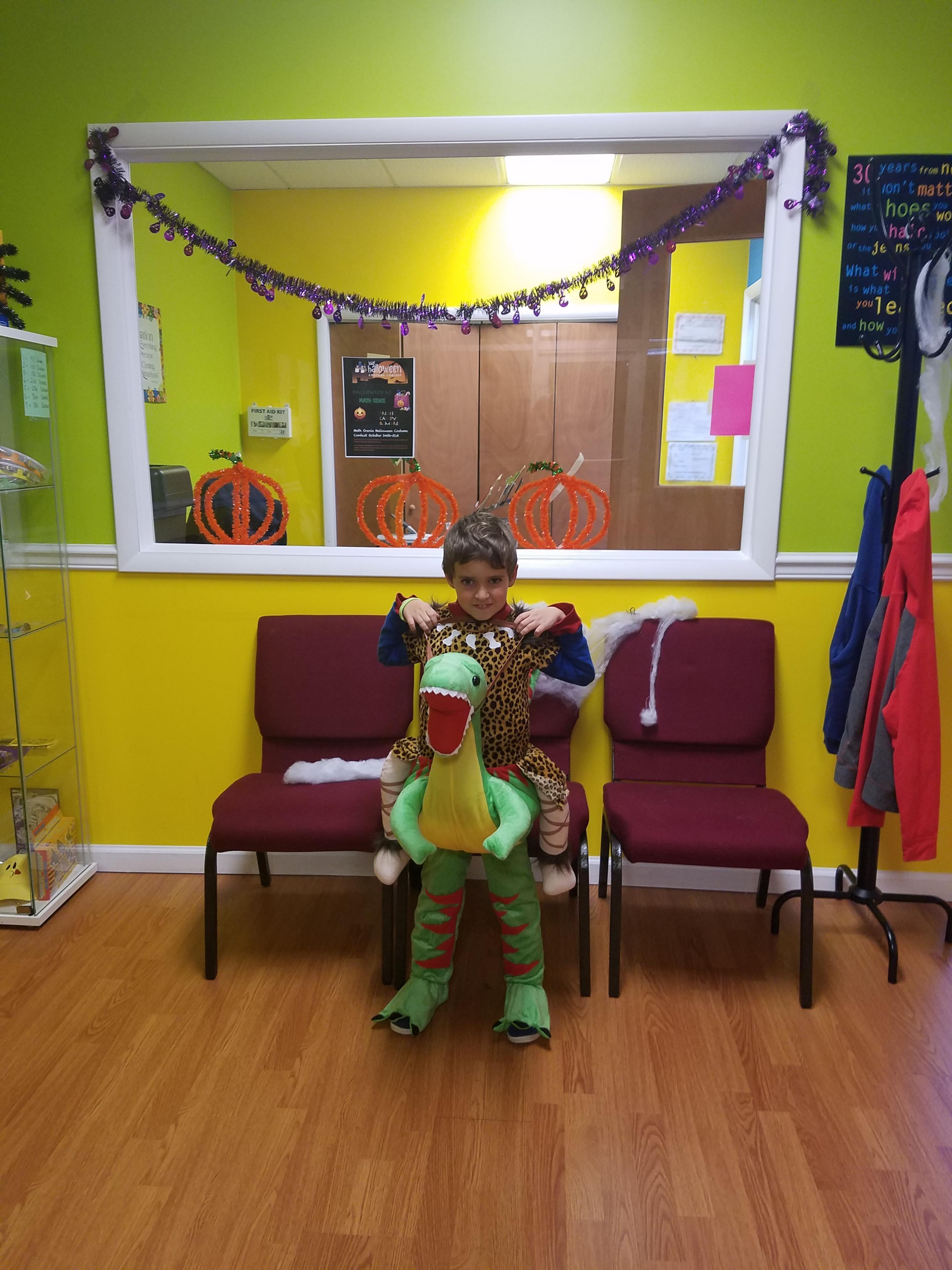 Math Genie's Halloween Contest Winners in Marlboro!