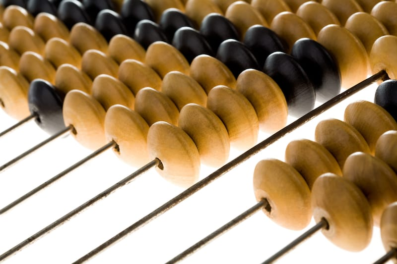 Learn how the abacus can help your child with the decomposition process