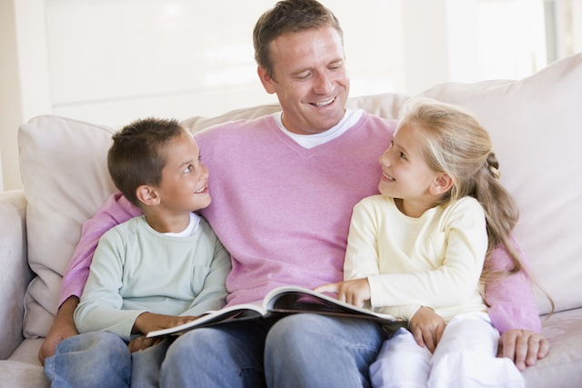 Improve your childs reading comprehension by encouraging a daily reading schedule