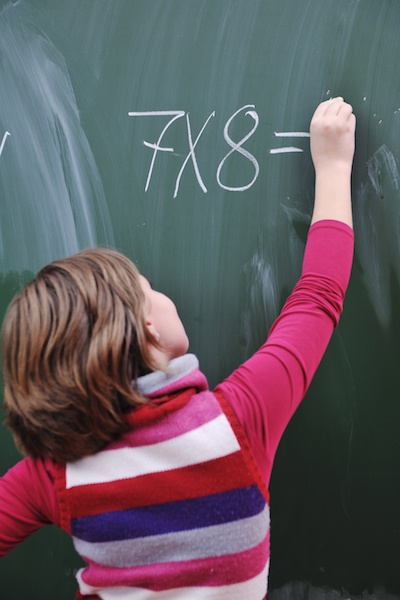 start teaching your children math at an early age to have them ahead of the game when they start school!