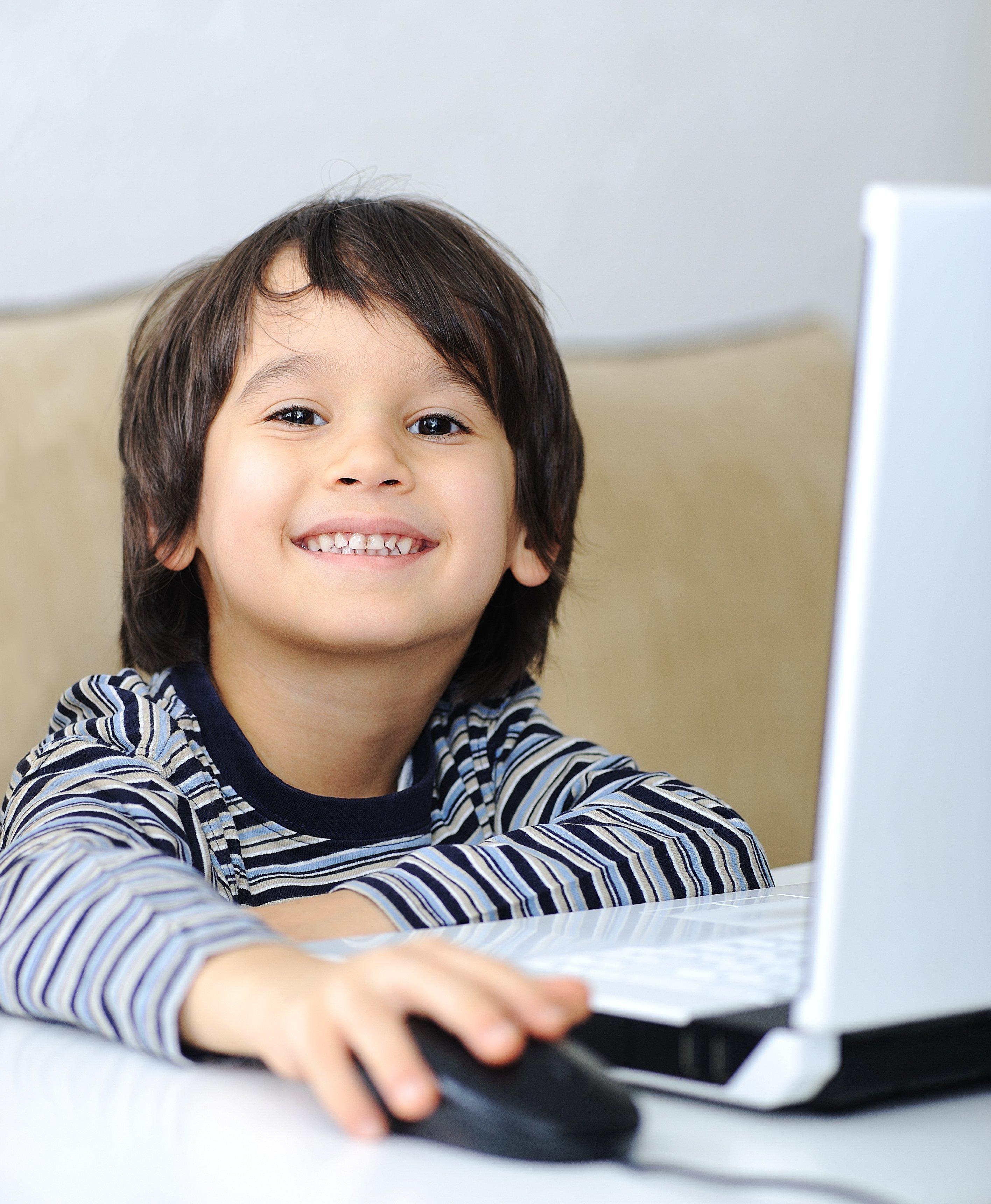 childhood-laptop-online-learning-math-reading-writing