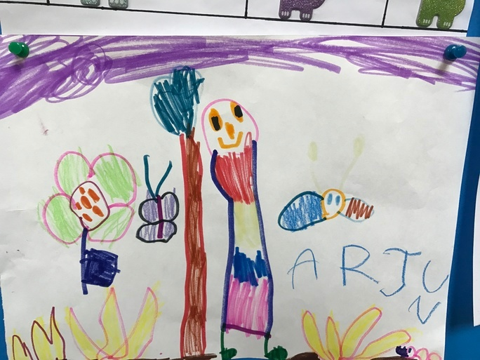Drawing can have positive effects on your child's overall well being